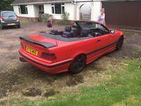 1996 bmw e36 320i convertible not Feb 117k