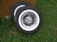 Tru-Wire Wheels with tires