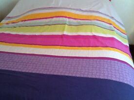 Debenhams king size quilt cover pristine
