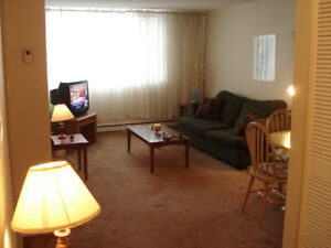 Spring Garden & Robie  (Embassy Towers) 1 bedroom Apt