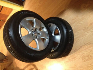 4 Factory Jetta Rims/tires 195/65r15 90%