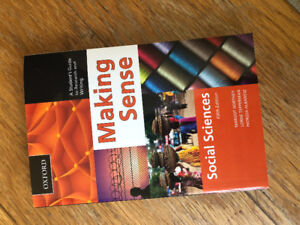 "Selling ""Making Sense- social sciences 5th Edition"" by Oxford"