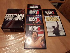 Série 6 films Saga Rocky