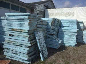 Blue Styrofoam Insulation