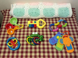 Baby Blanket with Toys