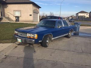 Fresh Safety!!Reduced!!1989 Ford LTD Crown vic