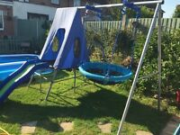 Swing and Slide Adventure Set