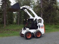 2004 Bobcat S-175 and 14K Rainbow Trailer Package