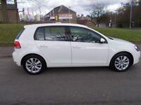 Volkswagen Golf 1.6 MATCH TDI BLUEMOTIONTECHNOLOGY (white) 2011