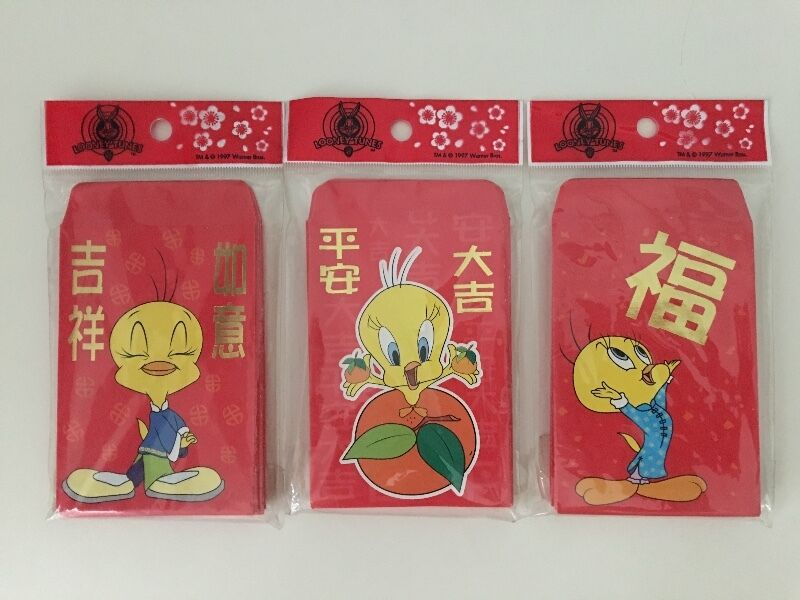 Tweety Bird red packets