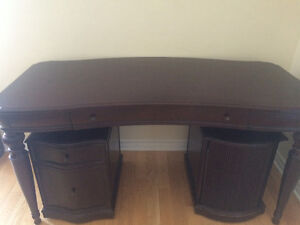 Bombay Desk and Cabinets