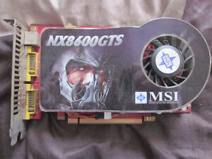 Video card - MSI NX8600GTS - NVIDIA chipset