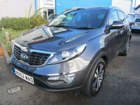 Kia Sportage 1.7CRDi ( 2WD ) 2011MY 3 Grey Pan Roof Full Service