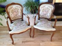 Two Nice Antique Chairs