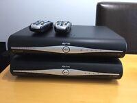 Sky HD boxes 1x wifi 1Tb &1x standard 500GB