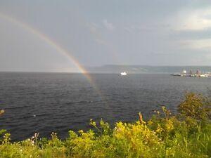 TERRAIN BORD DE L'EAU... La Baie Saguenay Saguenay-Lac-Saint-Jean image 1