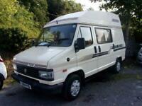 1993 Talbot EXPRESS 1000 P 2 Birth Camper 10 months mot ready to go PANEL VAN P