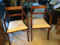 A pair of Carver chairs