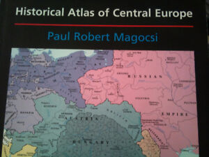HISTORICAL ATLAS of CENTRAL EUROPE - retails for  $150