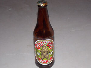 Grizzly Beer Bottle Stratford Kitchener Area image 1