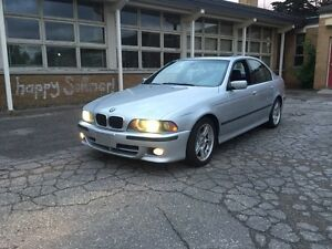 2001 BMW 540i M sport 6 speed manual