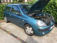Renault Clio breaking all parts 1.2 TEF47