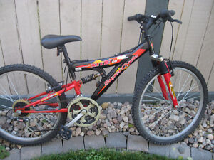 Supercycle XTI dual suspension mountain bike