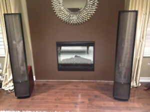 Martin Logan Theos Electrostatic Speakers