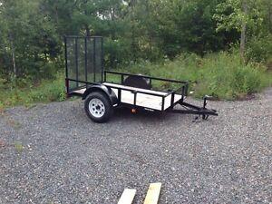 2015 5x8 triple crown utility trailer