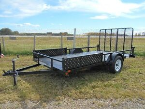 "New 2016 6 1/2 x12' Single Axle ""Rainbow"" Utility Trailer"