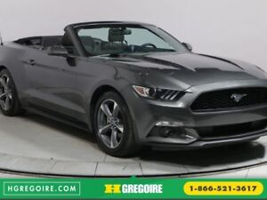 2017 Ford Mustang V6 AUTO A/C CAM RECUL CUIR BLUETOOTH MAGS