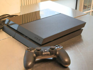 PS4 game system