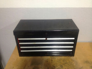 Tool chest top box