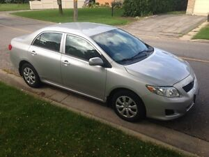 2009 Toyota Corolla $7000 cert, $6500 as is