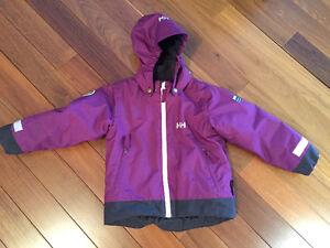 Girls Helly Hansen Winter Jacket Size 3
