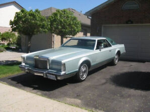 1977 Lincoln Mark V - all original with lots of extra parts too