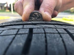 4 pneus d'été Bridgestone Turanza Serenity presque neufs