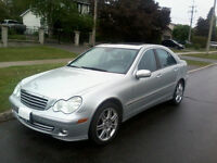 2007 Mercedes-Benz C 280 Advantgarde Sedan ONLY 67,000 kms