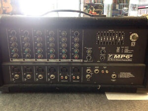 Mixer yorkville MP6D