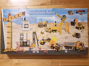 Like New.  Construction force Lego set