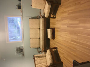 Lovely Vintage Couch and 2 Chairs