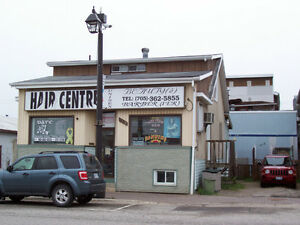 Commercial building with 3 rental units and main level buisiness