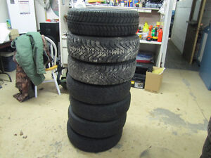 Six 175 70 14 Winter Tires