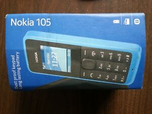 Nokia 105 Unlocked With Charger and Box