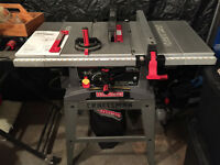Table Saw Craftsman 10""