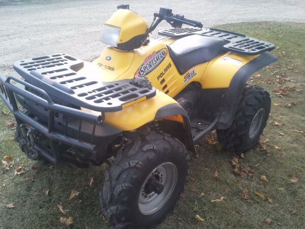Used 2002 Polaris 400 Sportsman