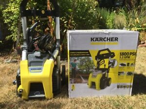 Karcher 1800 pressure washer