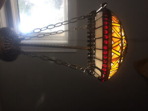 Hanging Glass Lamp Tiffany Light Shade