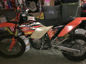 For Sale: 2008 KTM 530 EXC-r with Timbersled 137LT