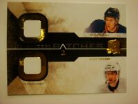 2010-11 The Cup Signature Patches Dual Hall/Tavares Artist Proof